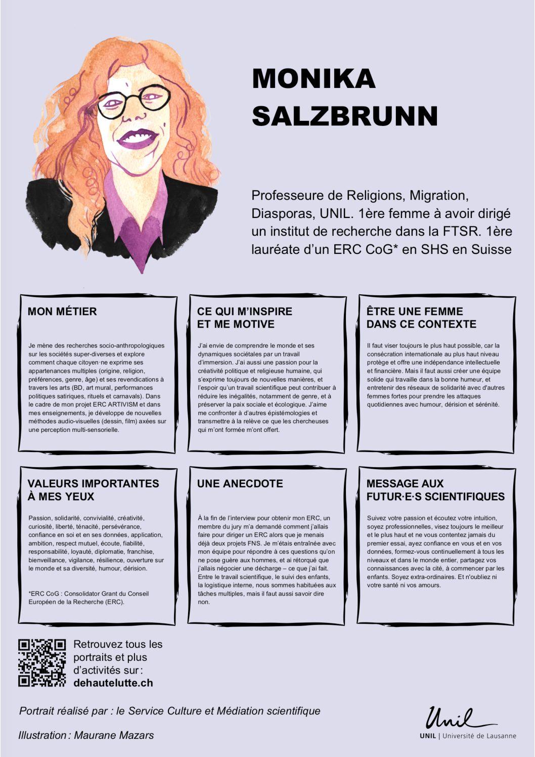 Portraits de femmes de sciences – Vernissage 18th June 2021